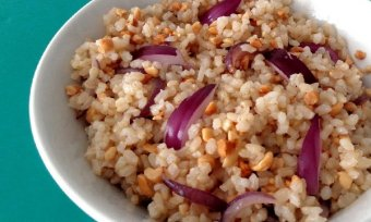ARROZ COM AMENDOIM